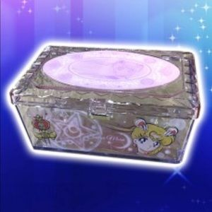 Sailor Moon Pink Jewelry And Makeup Box